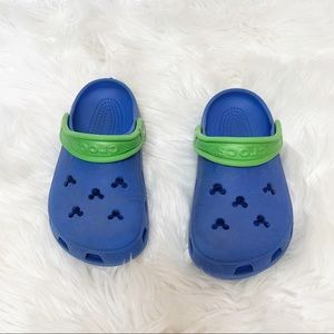 Crocs Disney Mickey Mouse Rubber Clogs Size J3